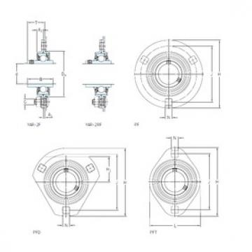 SKF PF 35 WF bearing units