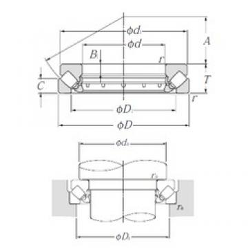NTN 29413 thrust roller bearings