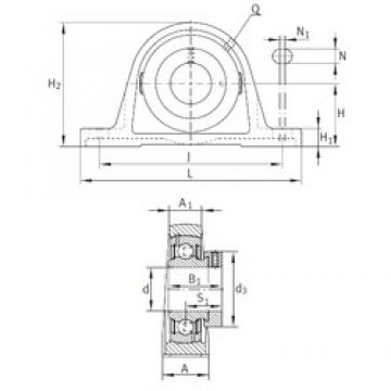 INA PASE1-1/2 bearing units