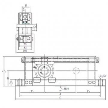KOYO UCTU313-700 bearing units