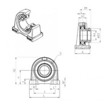SNR ESPAE212 bearing units
