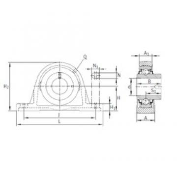 INA RASEL30-N bearing units