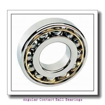 42 mm x 75 mm x 45 mm  ISO DAC42750045 angular contact ball bearings