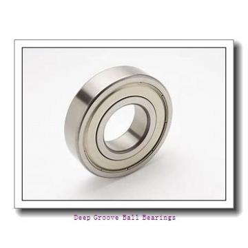 5 mm x 13 mm x 4 mm  ZEN S695-2RS deep groove ball bearings