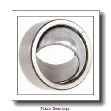 50 mm x 130 mm x 33,5 mm  ISO GE50AW plain bearings