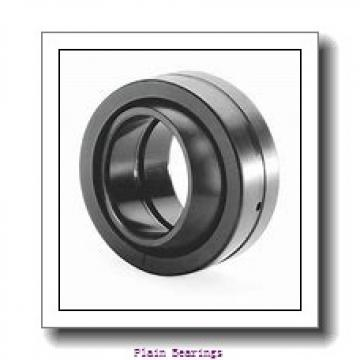 100 mm x 210 mm x 50 mm  ISO GE100AW plain bearings