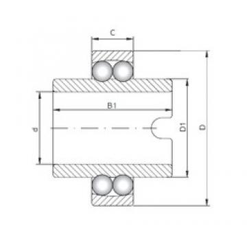 ISO 11204 self aligning ball bearings