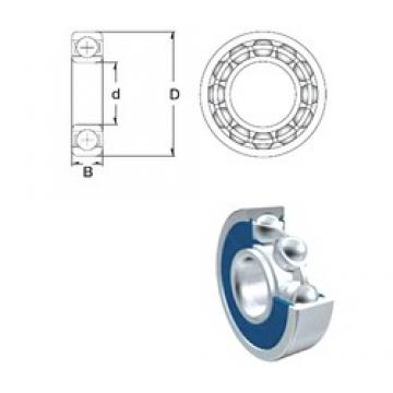 60 mm x 78 mm x 10 mm  ZEN 61812-2RS deep groove ball bearings