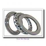 NACHI 53306U thrust ball bearings