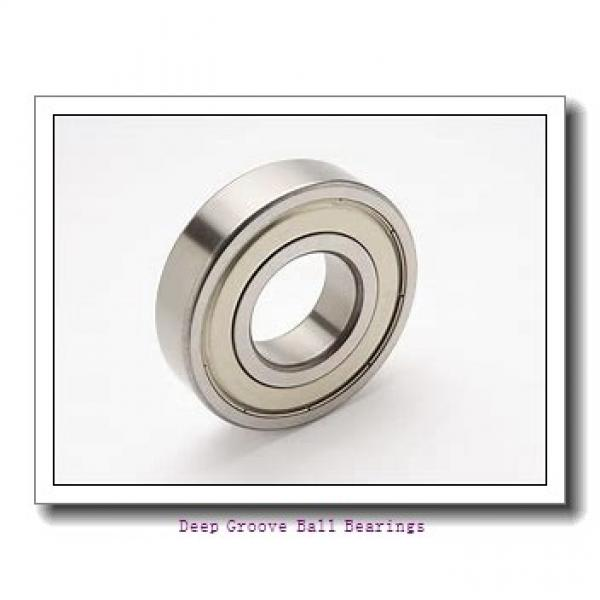 2 mm x 7 mm x 2,5 mm  ISO MF72 deep groove ball bearings #2 image
