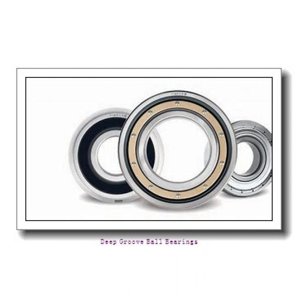 30 mm x 55 mm x 13 mm  Fersa 6006-2RS deep groove ball bearings #1 image